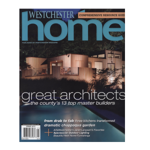 Westchester Home magazine cover spring 2012
