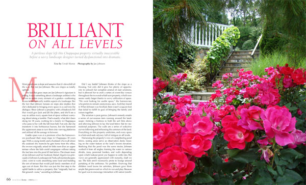 Westchester Home - Johnsen Landscapes article