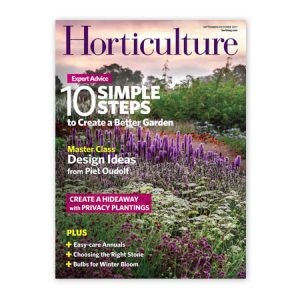 Horticulture Magazine - press for Johnsen Landscapes and Pools